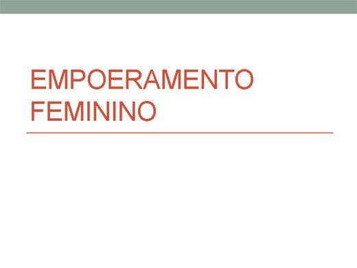 Curso Online de EMPODERAMENTO FEMININO