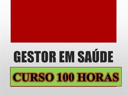 Curso Online de GESTOR EM SAÚDE