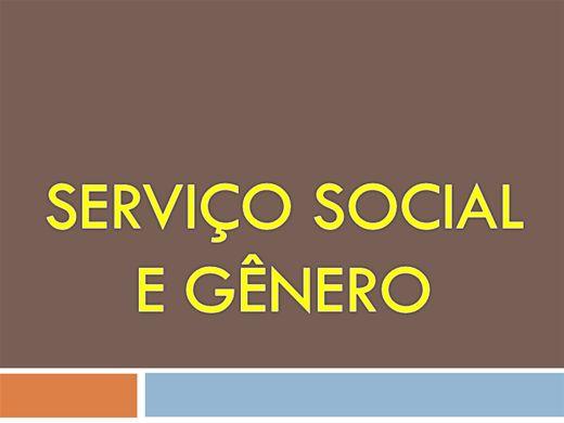 Curso Online de SERVIÇO SOCIAL E GÊNERO