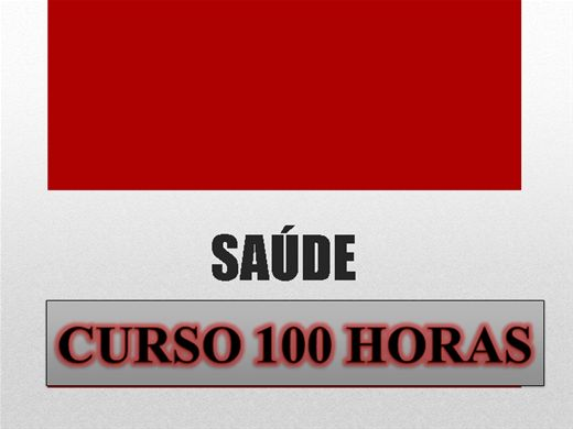 Curso Online de SAÚDE