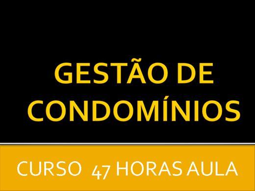 Curso Online de GESTÃO DE CONDOMÍNIOS
