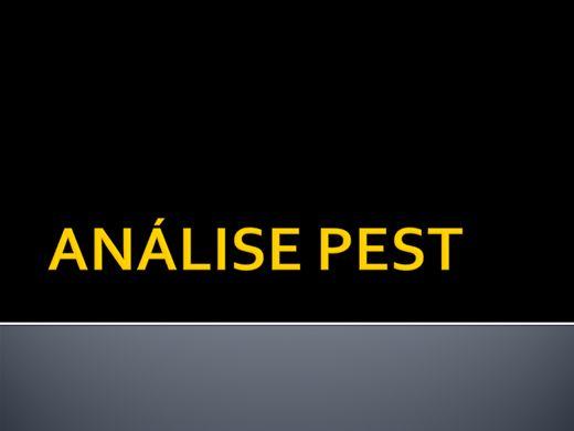 Curso Online de GESTÃO: ANALISE PEST