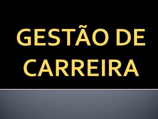 Curso Online de GESTÃO DE CARREIRA