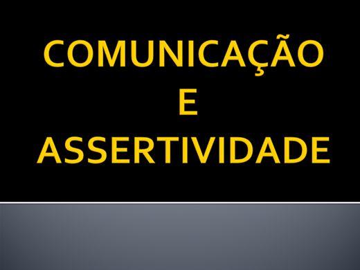 Curso Online de COMUNICAÇÃO E ASSERTIVIDADE