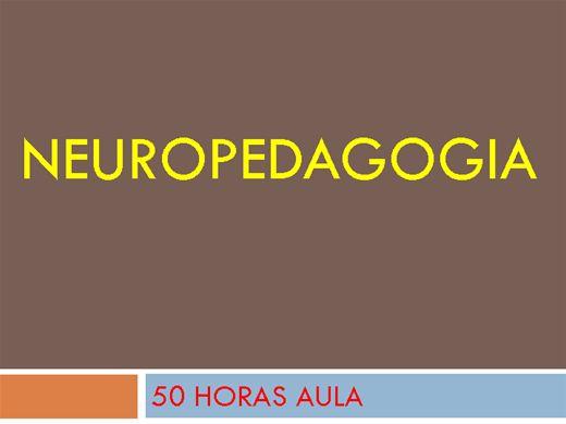 Curso Online de NEUROPEDAGOGIA