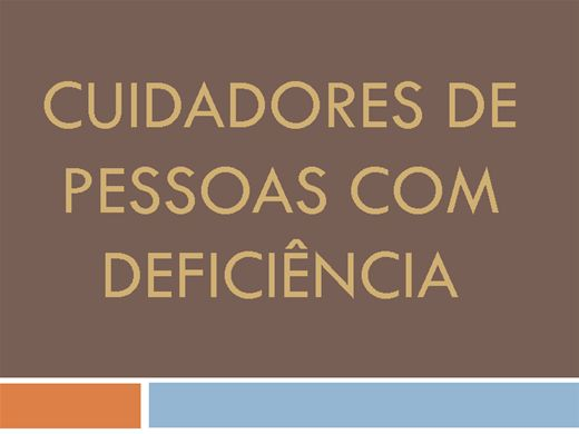 Curso Online de CUIDADORES DE PESSOAS COM DEFICIÊNCIA