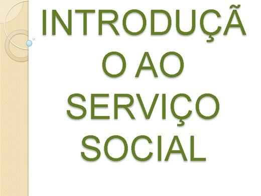 Curso Online de INTRODUÇÃO AO SERVIÇO SOCIAL