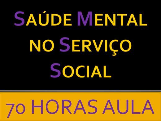 Curso Online de SAÚDE MENTAL NO SERVIÇO SOCIAL