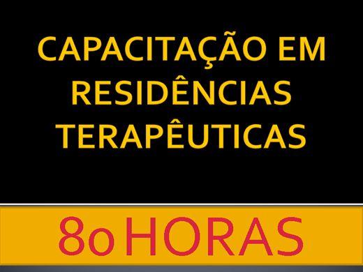 Curso Online de CAPACITAÇÃO EM RESIDÊNCIA TERAPÊUTICA