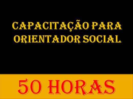 Curso Online de CAPACITAÇÃO PARA ORIENTADOR SOCIAL