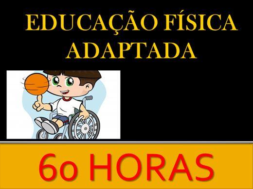Curso Online de EDUCAÇÃO FÍSICA ADAPTADA