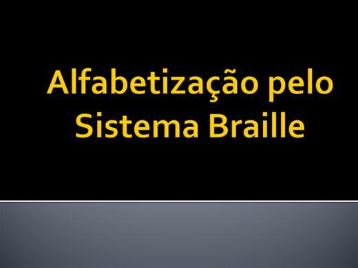 Curso Online de Alfabetização pelo Sistema Braille