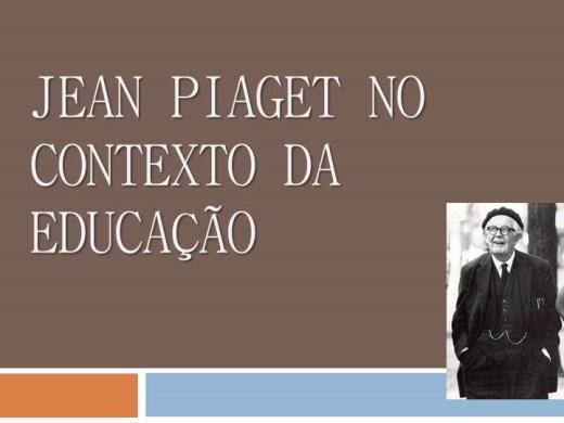 Curso Online de JEAN PIAGET NO CONTEXTO DA EDUCAÇÃO