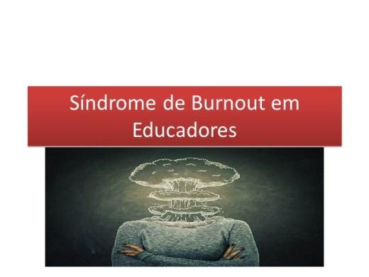 Curso Online de Síndrome de Burnout em Educadores