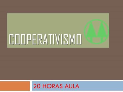 Curso Online de COOPERATIVISMO