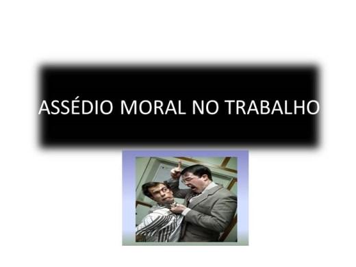 Curso Online de Assédio Moral no Ambiente Corporativo