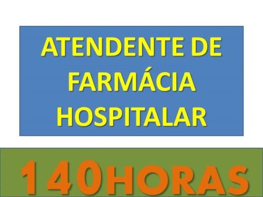 Curso Online de ATENDENTE DE FARMÁCIA HOSPITALAR