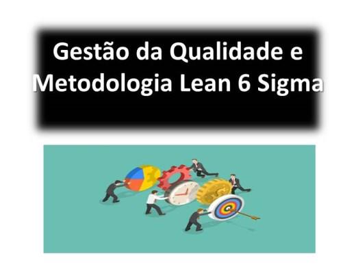 Curso Online de Gestão da Qualidade e Metodologia Lean 6 Sigma