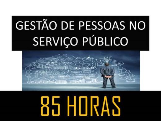 Curso Online de GESTÃO DE PESSOAS NO SERVIÇO PÚBLICO