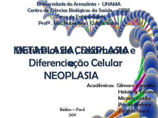 Curso Online de Distúrbio do Crescimento e Diferenciação Celular - Câncer