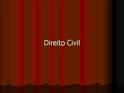 Curso Online de Direito Civil