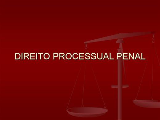 Curso Online de Direito Processual Penal