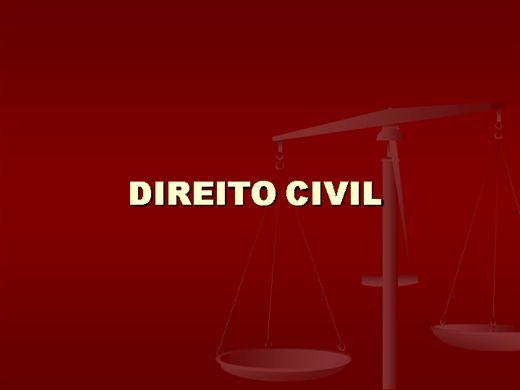 Curso Online de DIREITO CIVIL COMPLETO