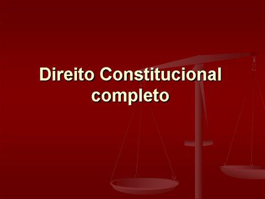 Curso Online de Constitucional para Concurso