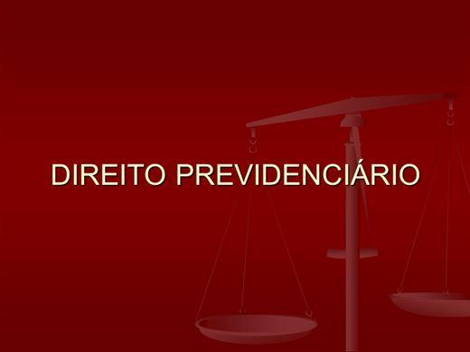 Curso Online de DIREITO PREVIDENCIÁRIO