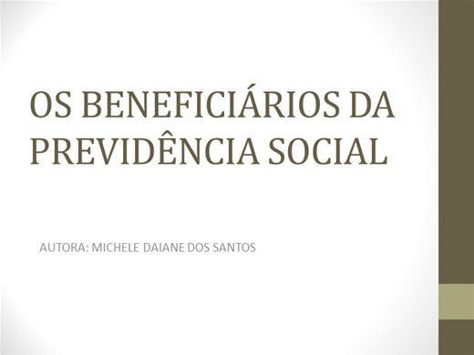 Curso Online de OS BENEFICIARIOS DA PREVIDÊNCIA