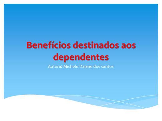 Curso Online de Beneficios destinados aos dependentes
