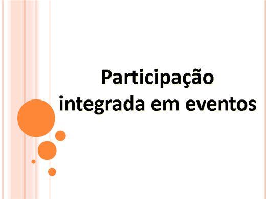 Curso Online de Participação integrada em eventos