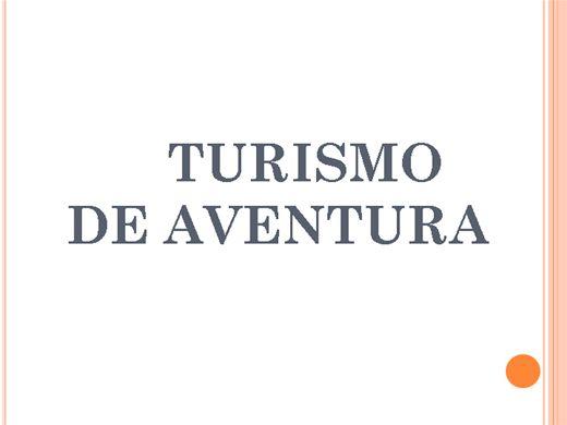 Curso Online de Turismo de Aventura
