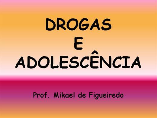 Curso Online de Drogas e Adolescência