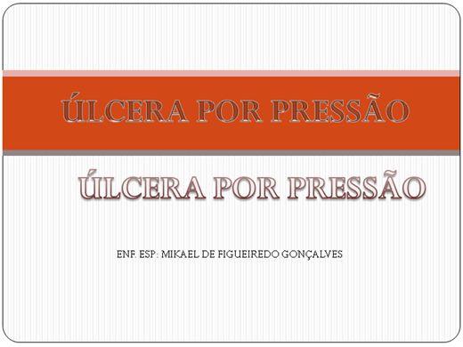 Curso Online de ULCERA POR PRESSAO