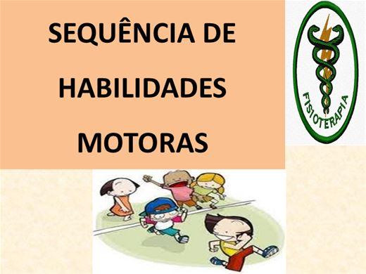 Curso Online de SEQUÊNCIA DE HABILIDADES MOTORAS