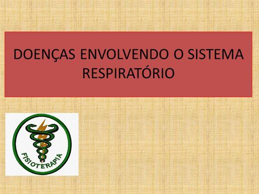 Curso Online de DOENÇAS RELACIONADAS AO SISTEMA RESPIRATÓRIO
