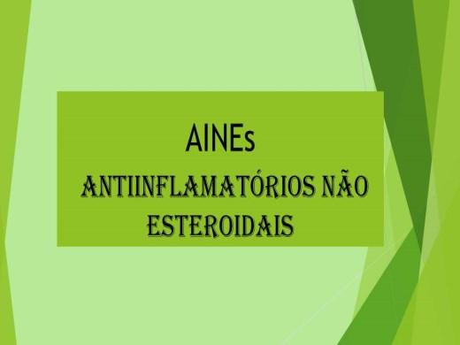 Curso Online de AINEs ANTIINFLAMATÓRIOS NÃO ESTEROIDAIS