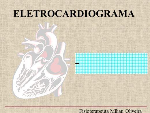 Curso Online de CURSO DE ELETROCARDIOGRAMA (ECG)