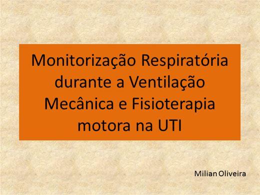 Curso Online de MONITORIZAÇÃO RESPIRATÓRIA DURANTE A VENTILAÇÃO MECÂNICA E FISIOTERAPIA MOTORA