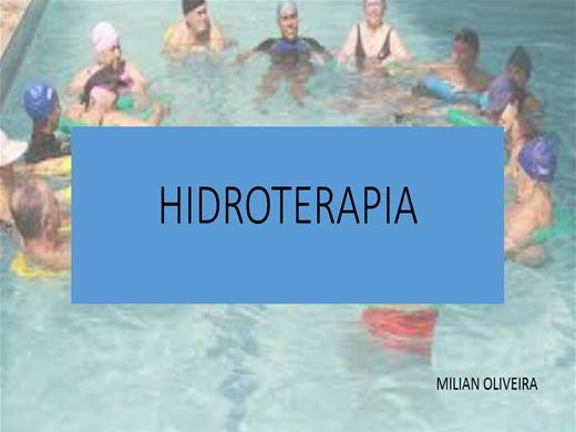 Curso Online de HIDROTERAPIA