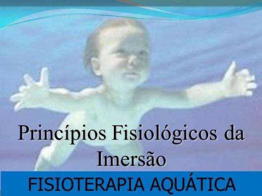 Curso Online de PRINCÍPIOS FISIOLÓGICOS DA IMERSÃO - FISIOTERAPIA AQUÁTICA