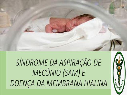 Curso Online de SÍNDROME DA ASPIRAÇÃO DE MECÔNIO (SAM) E DOENÇA DA MEMBRANA HIALINA