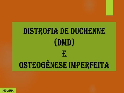 Curso Online de DISTROFIA DE DUCHENNE E OSTEOGÊNESE IMPERFEITA