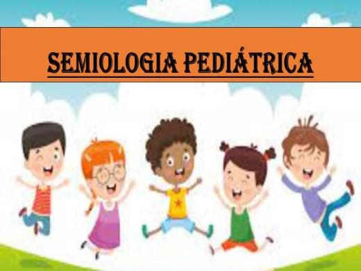 Curso Online de SEMIOLOGIA PEDIÁTRICA