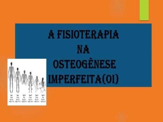 Curso Online de A FISIOTERAPIA NA OSTEOGÊNESE IMPERFEITA