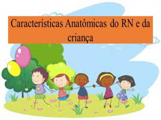 Curso Online de Características Anatômicas do RN e da criança