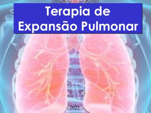 Curso Online de TERAPIA DE EXPANSÃO PULMONAR .O QUE SABER? COMO FAZER?