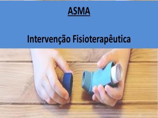 Curso Online de Intervenção Fisioterapêutica na Asma
