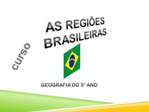 Curso Online de REGIÕES BRASILEIRAS (GEOGRAFIA 5°ANO)
